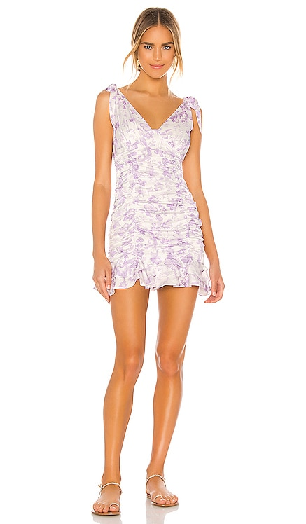 Annalise Mini Dress MAJORELLE $218 NEW
