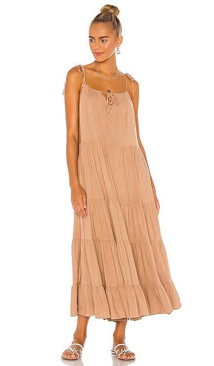The Mia Midi Dress MAJORELLE $198 NEW