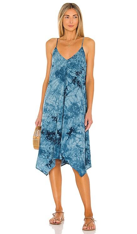 Delaney Midi Dress MAJORELLE $188