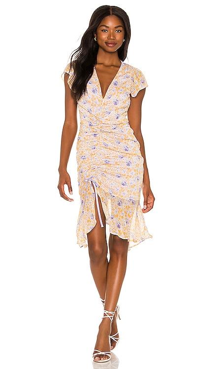 Elaine Midi Dress MAJORELLE $218 BEST SELLER