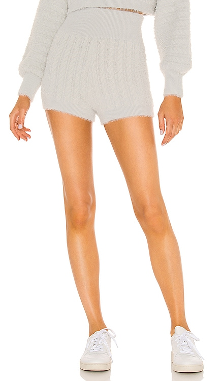 Leighton Cable Shorts MAJORELLE $148
