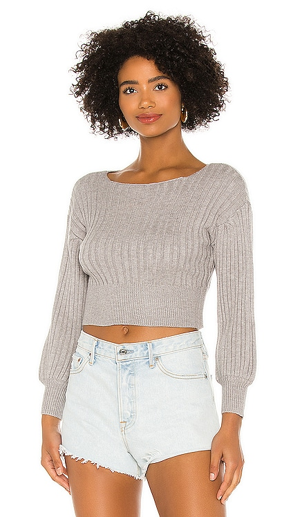 Saralyn Cropped Sweater MAJORELLE $108 NEW
