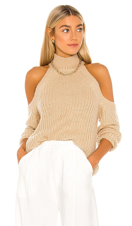 Estrid Cold Shoulder Sweater MAJORELLE $158
