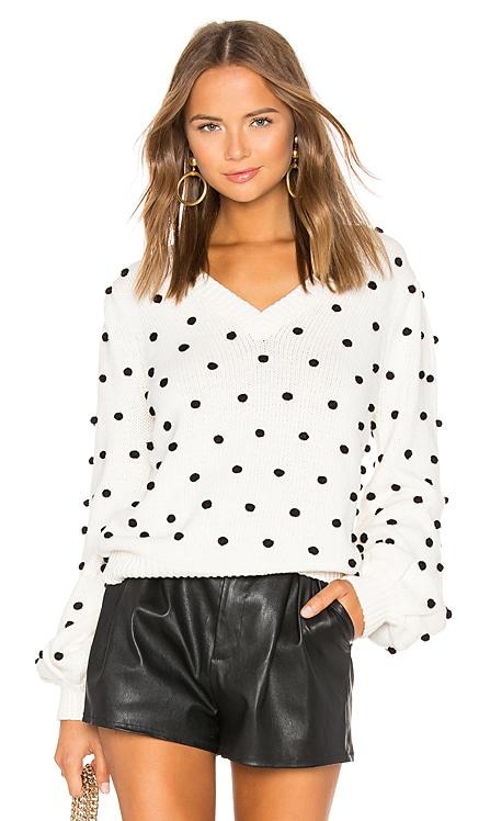 Polka Dot Sweater MAJORELLE $62