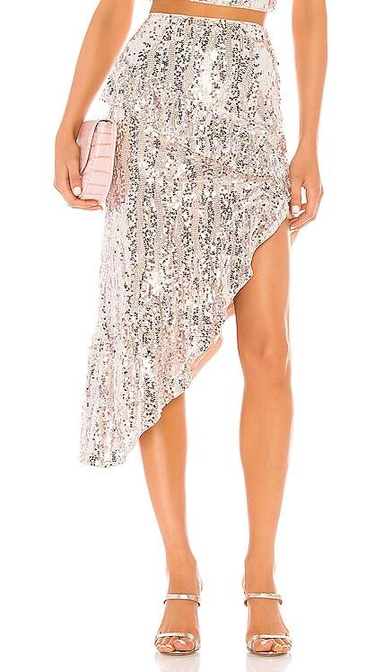 Warren Midi Skirt MAJORELLE $89