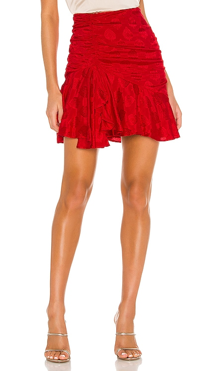 Arabella Mini Skirt MAJORELLE $158