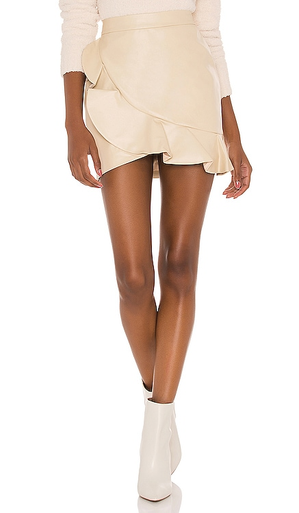 Poseidon Mini Skirt MAJORELLE $148