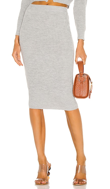 Elsie Knit Skirt MAJORELLE $88 NEW