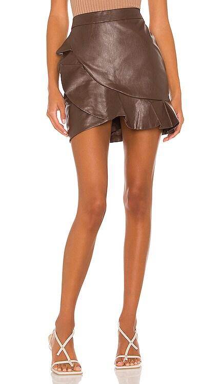 Poseidon Mini Skirt MAJORELLE $148 NEW