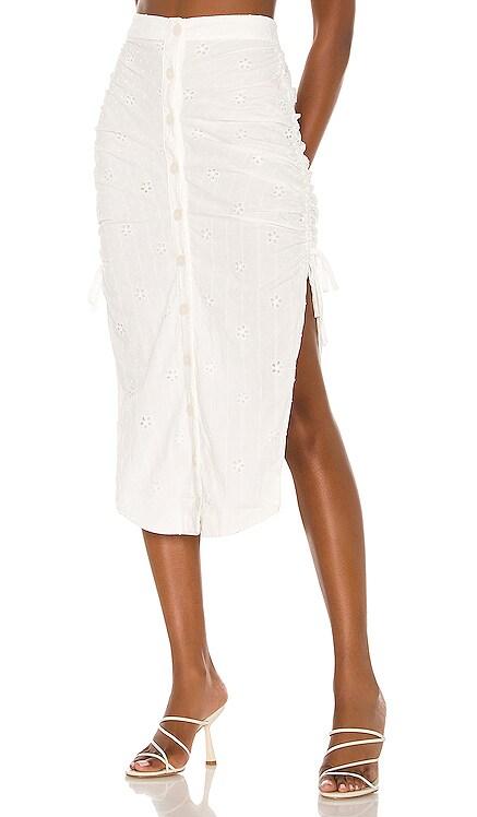 Mara Midi Skirt MAJORELLE $168