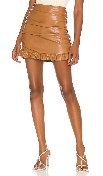 Carmelita Mini Skirt MAJORELLE $148