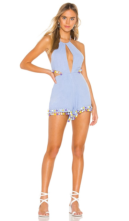 Fiji Romper MAJORELLE $46 (FINAL SALE)