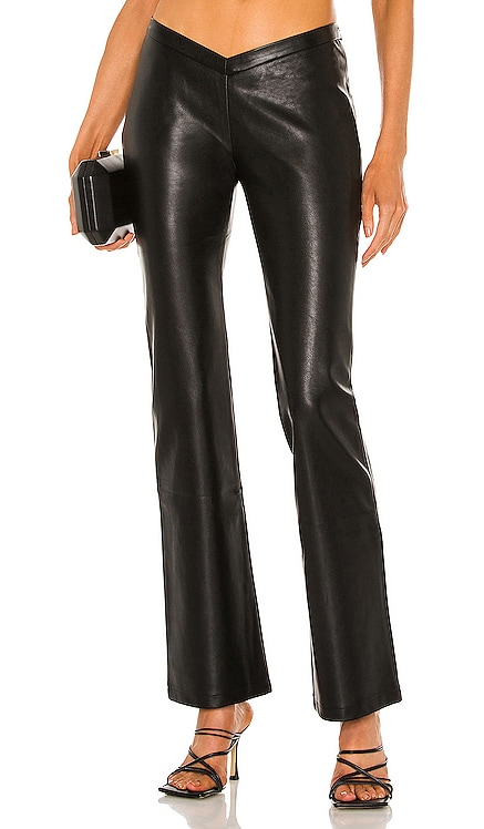 Elvis Vegan Leather Pant Miaou $325