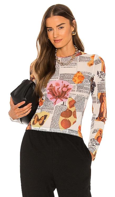 Long Sleeve Tee Miaou $105