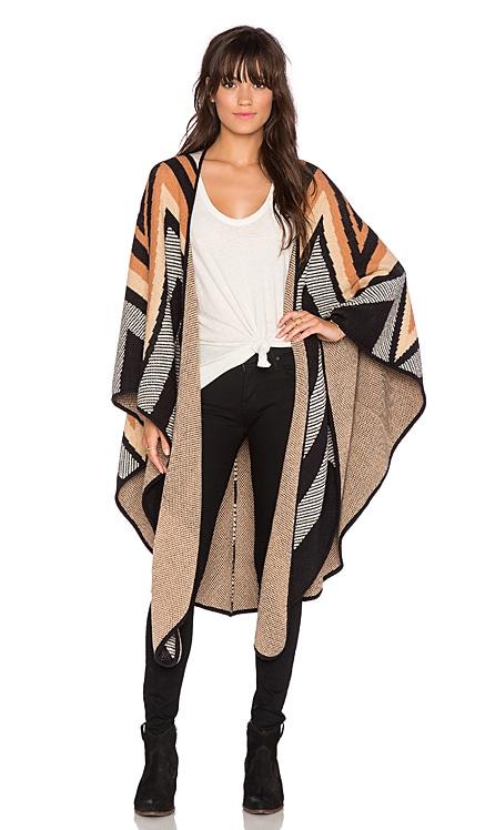 Knit Cape Mara Hoffman $299