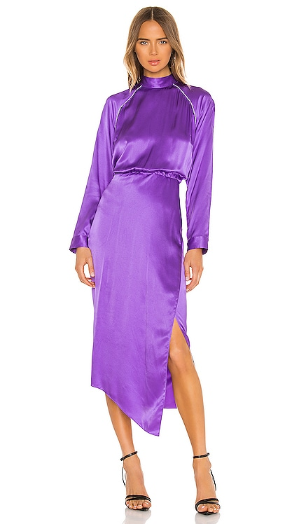 Raglan Dress With Crystal Michelle Mason $794 NEW ARRIVAL