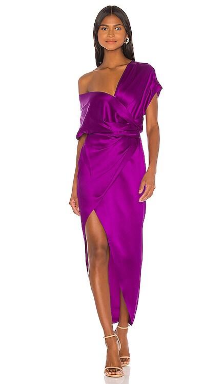 Wide Neck Wrap Dress Michelle Mason $794 BEST SELLER