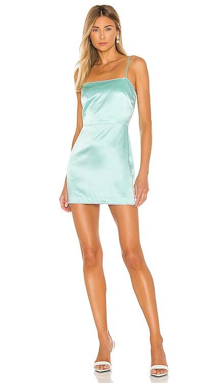 X REVOLVE Crystal Mini Dress Michelle Mason $793 NEW