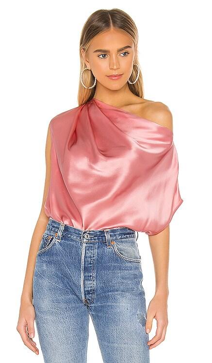 X REVOLVE Asymmetrical Drape Top Michelle Mason $379