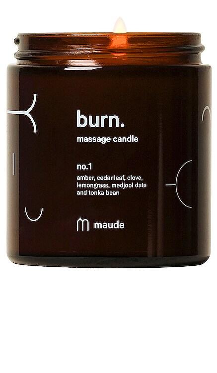 Burn Massage Candle No. 1 maude $25 (FINAL SALE) BEST SELLER