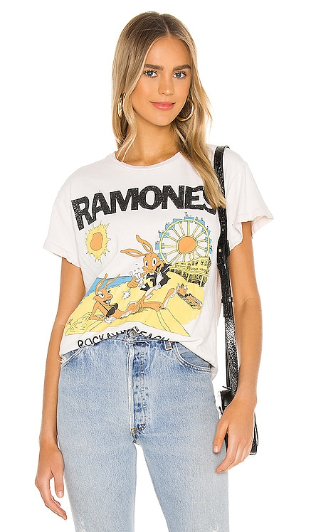 T-SHIRT GRAPHIQUE RAMONES Madeworn $129