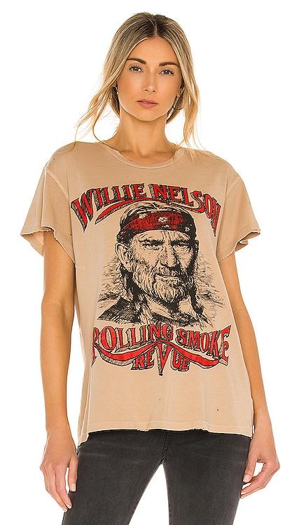 Willie Nelson Tee Madeworn $165 BEST SELLER