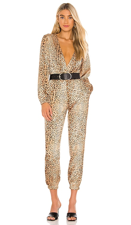 x REVOLVE Relaxed Surplice Jumpsuit Michael Costello $228
