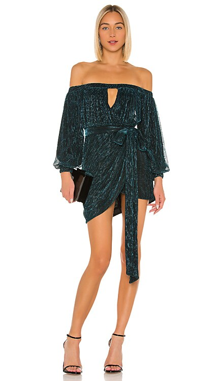 x REVOLVE Hemma Mini Dress Michael Costello $175