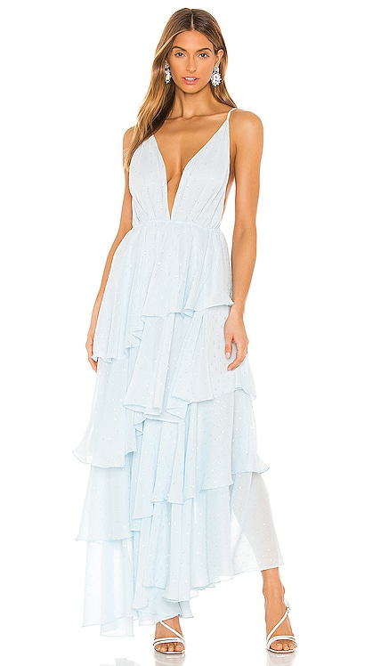 x REVOLVE Valentina Gown Michael Costello $258 NEW ARRIVAL