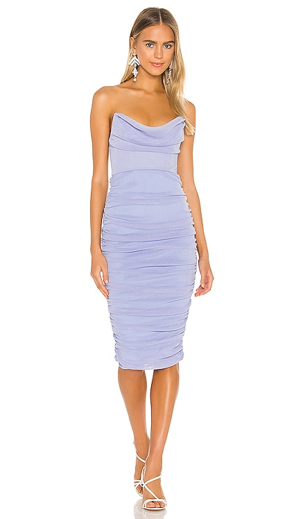 x REVOLVE India Midi Dress Michael Costello $178 NEW