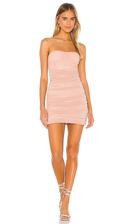 x REVOLVE Izzo Mini Dress Michael Costello $188 NEW