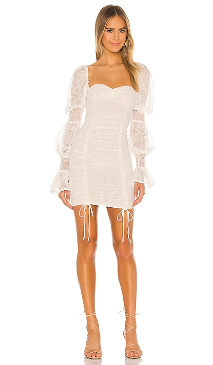 x REVOLVE Isadora Mini Dress Michael Costello $268 NEW