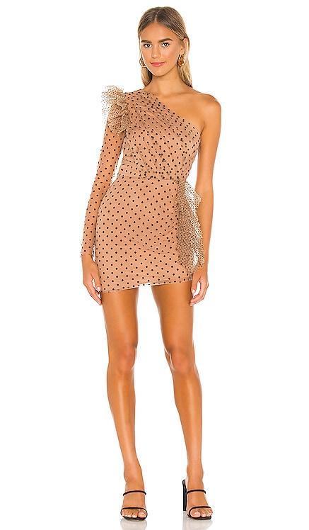 x REVOLVE Xena Mini Dress Michael Costello $288 NEW