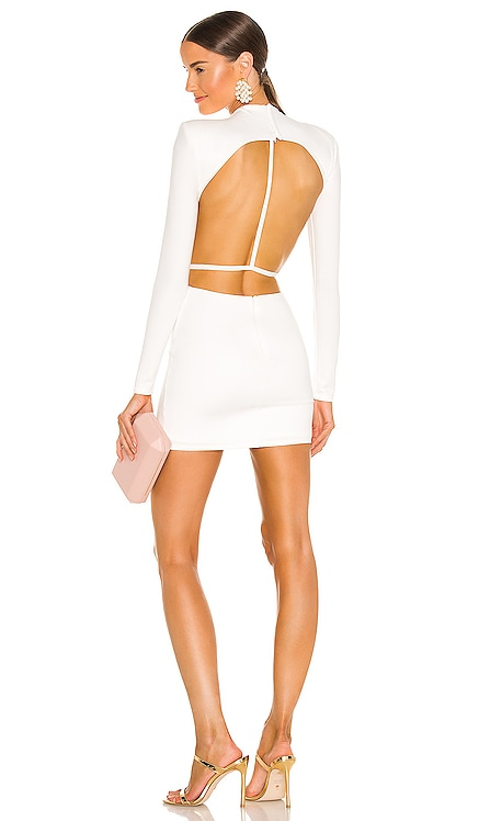 x REVOLVE Zola Mini Dress Michael Costello $218 NEW