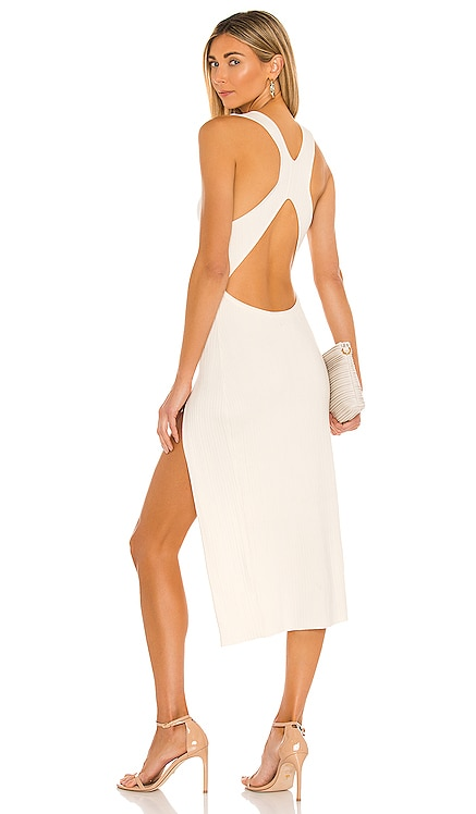 x REVOLVE Variegated Rib Bodycon Dress Michael Costello $198 NEW