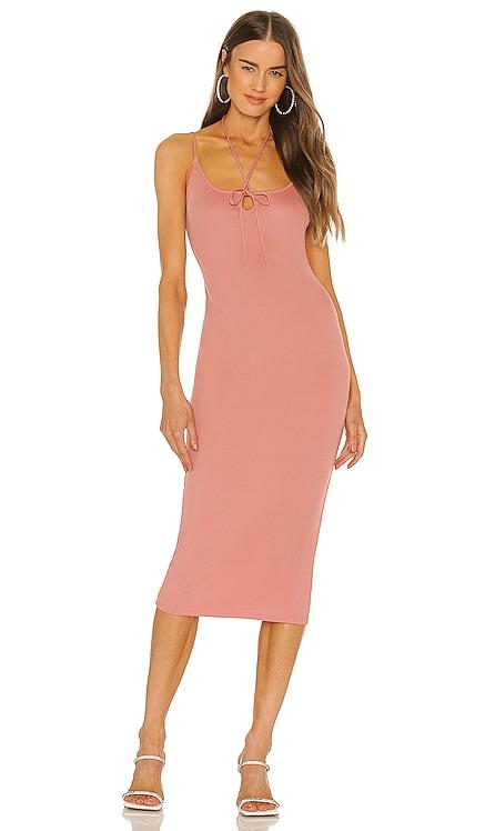 x REVOLVE Rowan Midi Dress Michael Costello $178 NEW