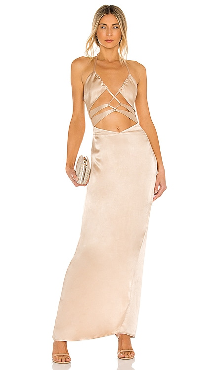 x REVOLVE Josie Gown Michael Costello $198 NEW