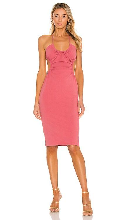 x REVOLVE Mabel Ruched Midi Dress Michael Costello $218 BEST SELLER