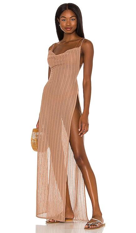 x REVOLVE Shannon Maxi Dress Michael Costello $188 NEW