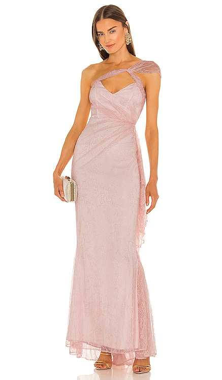 x REVOLVE Landon Gown Michael Costello $288 NEW