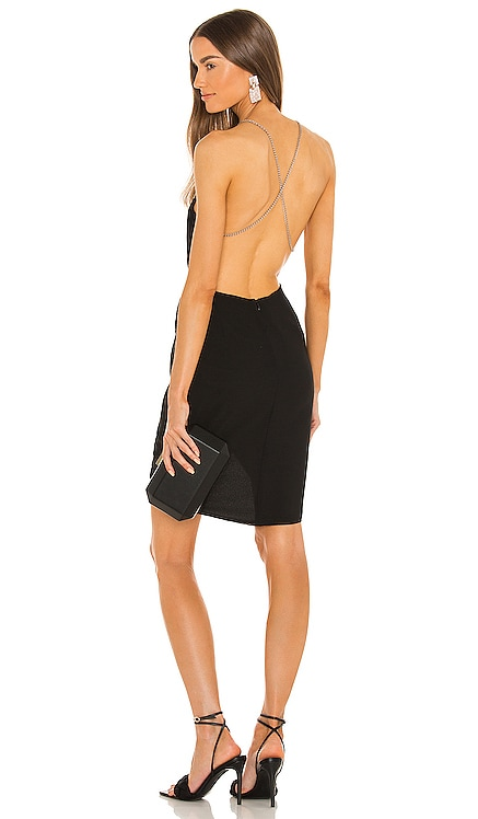 x REVOLE Casey Mini Dress Michael Costello $198 NEW