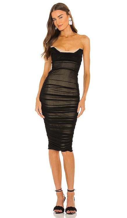 x REVOLVE India Midi Dress Michael Costello $178 NEW