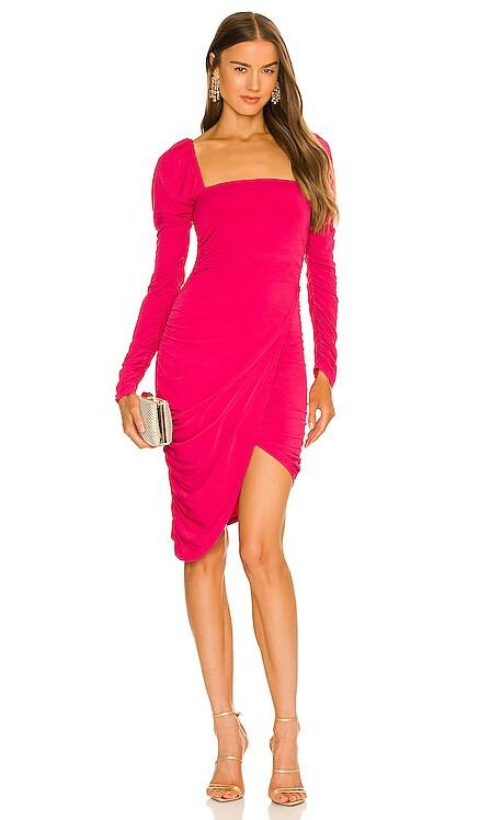 x REVOLVE Ashley Midi Dress Michael Costello $188 NEW