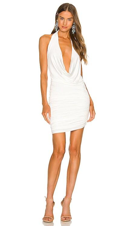 x REVOLVE Izzy Mini Dress Michael Costello $158 NEW