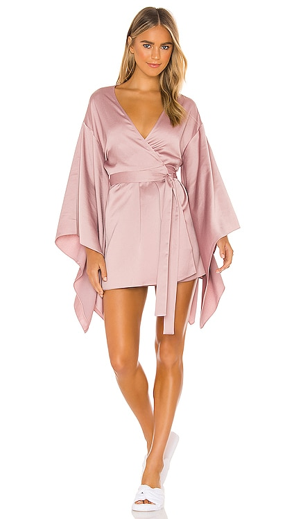 x REVOLVE Wrap Robe Michael Costello $248 NEW