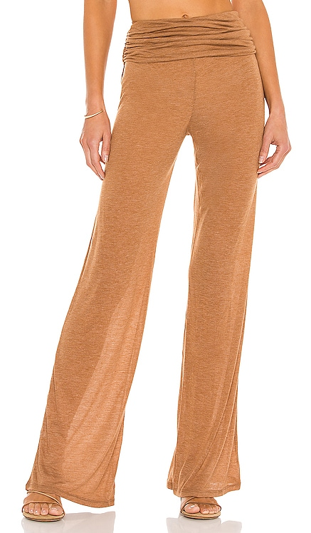 x REVOLVE Sheer Relaxed Pant Michael Costello $138 NEW