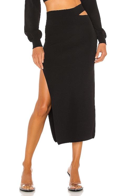 x REVOLVE Cut Out Knit Midi Skirt Michael Costello $158 BEST SELLER