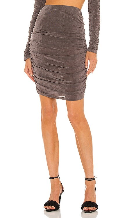 x REVOLVE Jayce Mini Skirt Michael Costello $158