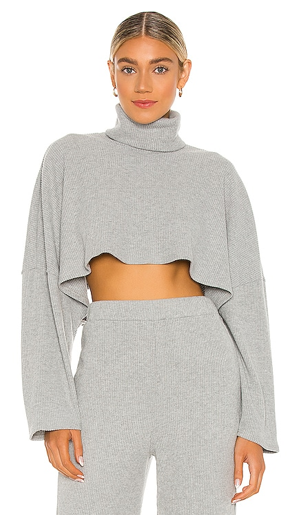 x REVOLVE Turtleneck Oversized Top Michael Costello $148 NEW