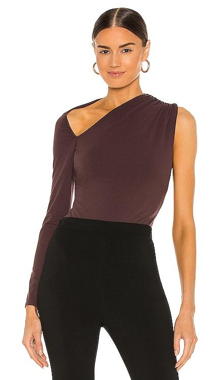 x REVOLVE One Sleeve Bodysuit Michael Costello $138 NEW